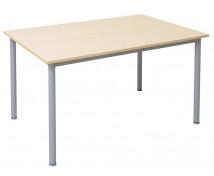 [Íróasztal fém lábakkal, 140 x 80 cm]