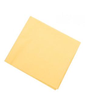 Egyszínű - sárga - paplan és párna készlet - IDEÁL méret