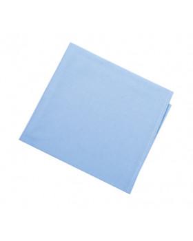 Egyszínű - kék - paplan és párna készlet - IDEÁL méret