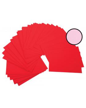 Színes rajzlap, 225 g/m2 - rózsaszín