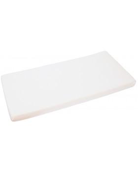 Froté, vízálló, gumis lepedő, 120 x 60 cm - fehér