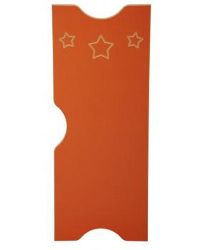 Csillag ajtó - Ementál szekrényhez - barna