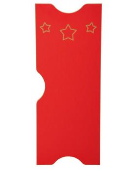 Csillag ajtó - Ementál szekrényhez - piros