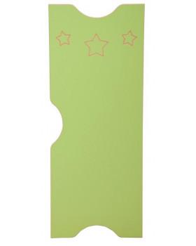 Csillag ajtó - Ementál szekrényhez - zöld