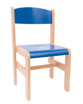 Faszék Extra - ülésmagasság 30 cm - kék