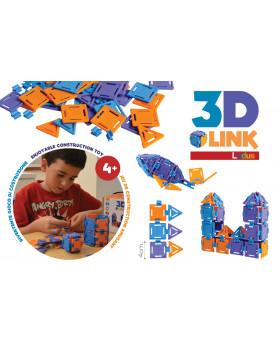 3D LINK építő játék