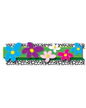 Dekoráció - szegélyező - Színes virágok