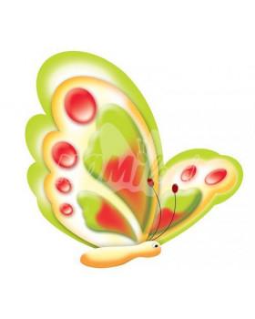 Dekoráció - Pillangó, 2db