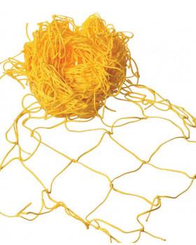 Dekorációs háló  5x1 m - sárga