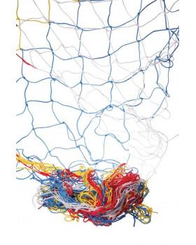 Dekorációs háló  5x1 m - színes