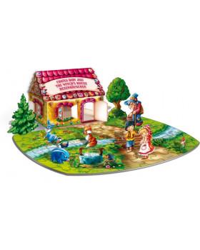 3D puzzle - Mézeskalács ház