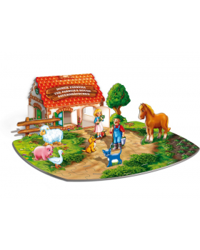 3D puzzle - Farm