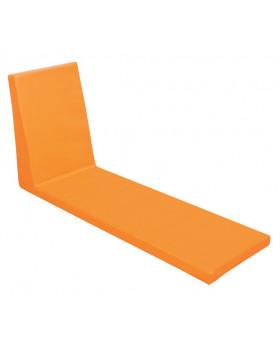 Ülőke keskeny támlával - narancssárga