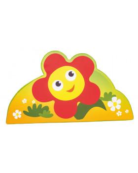 Habszivacs dekoráció forma kicsi - virág 43cm