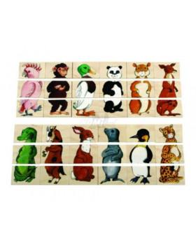3 részes puzzle - Állatvilág- VYRADENÉ