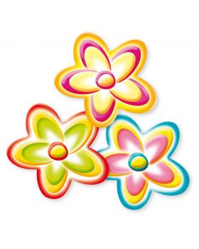 Dekoráció - Virág, 3 db