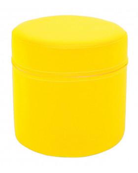 Rövid henger sárga