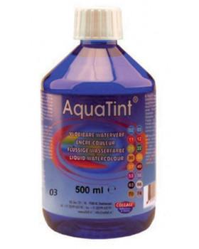 Vízfesték AquaTint - sötétkék - 500 ml