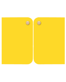 Ajtó, közepes - sárga