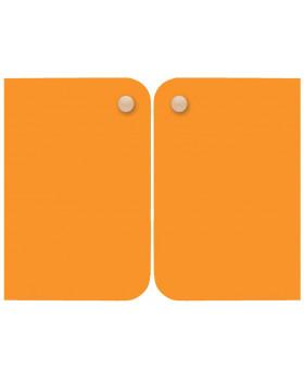Ajtó, közepes - narancssárga