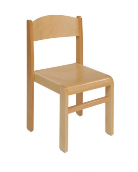 Bükkfa szék - ülésmagasság 38 cm - natúr