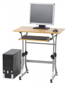 Állítható magasságú PC asztal