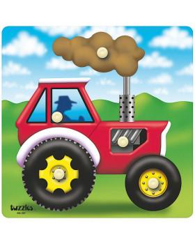 Beillesztős játék - traktor