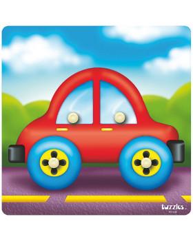 Beillesztős játék - autó